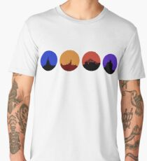 Attraction Circles V1 Men's Premium T-Shirt
