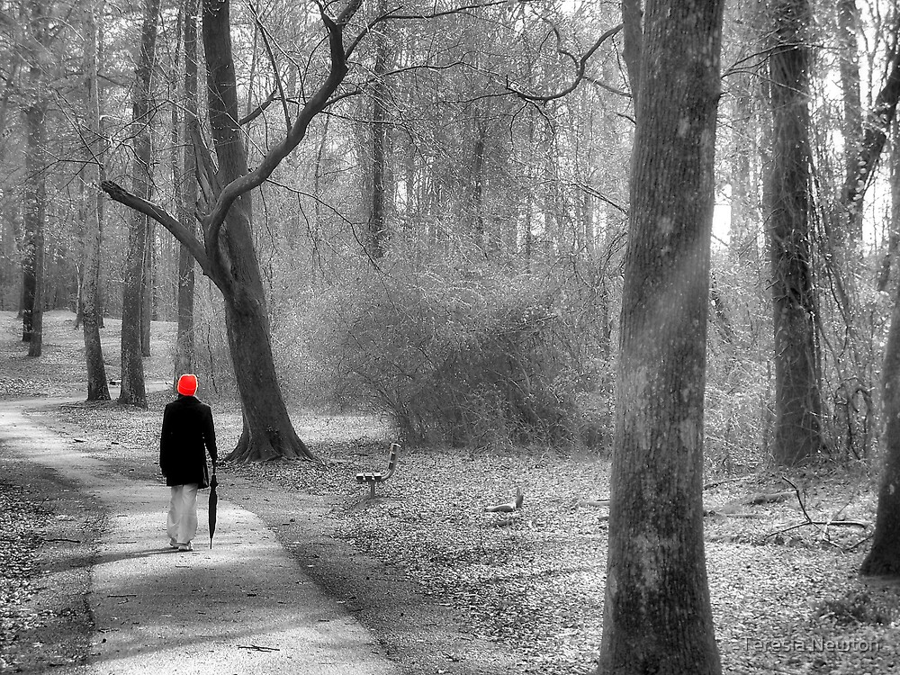 Just Me and The Trees b/w by Teresia Newton