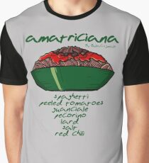 Pasta all'Amatriciana Graphic T-Shirt