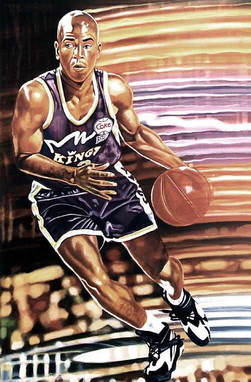 basketball player by Edward Crosby