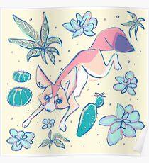 Desert Fox Poster
