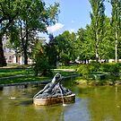 Park At Palais Liechtenstein, 1090 Vienna Austria by Mythos57