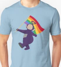 Tinky Winky Pride Slim Fit T-Shirt
