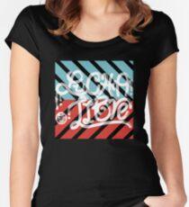 Typoluchaphy18 Women's Fitted Scoop T-Shirt