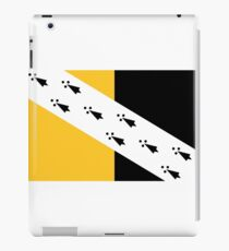 Flag of Norfolk, England iPad Case/Skin