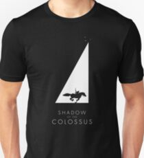 Shadow of the Colossus - Sanctuary silhouette white Unisex T-Shirt