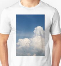 White clouds against the blue sky T-Shirt