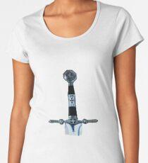 Templar Medieval Sword Women's Premium T-Shirt