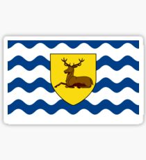 Flag of Hertfordshire, England Sticker