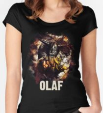 League of Legends OLAF Women's Fitted Scoop T-Shirt