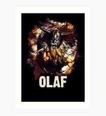 League of Legends OLAF Art Print