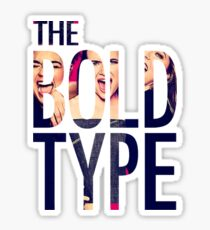 The Blod Type Simple Design Sticker