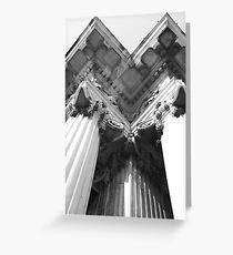Columns Greeting Card