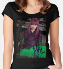 Mal - Descendants 2 Women's Fitted Scoop T-Shirt