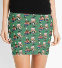 World Cup Soccer Shot Mini Skirt
