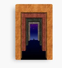 Halls Of Solitude Canvas Print