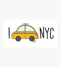 I love NYC Photographic Print