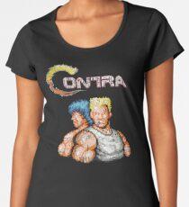 Contra Vintage Heros Pixels Women's Premium T-Shirt