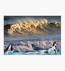 926-High Surf Drama Photographic Print