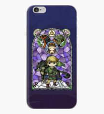 Twilight Princess Stained Glass, Purple Version iPhone Case