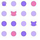Kitty Dot - Lavender by Anzadesu