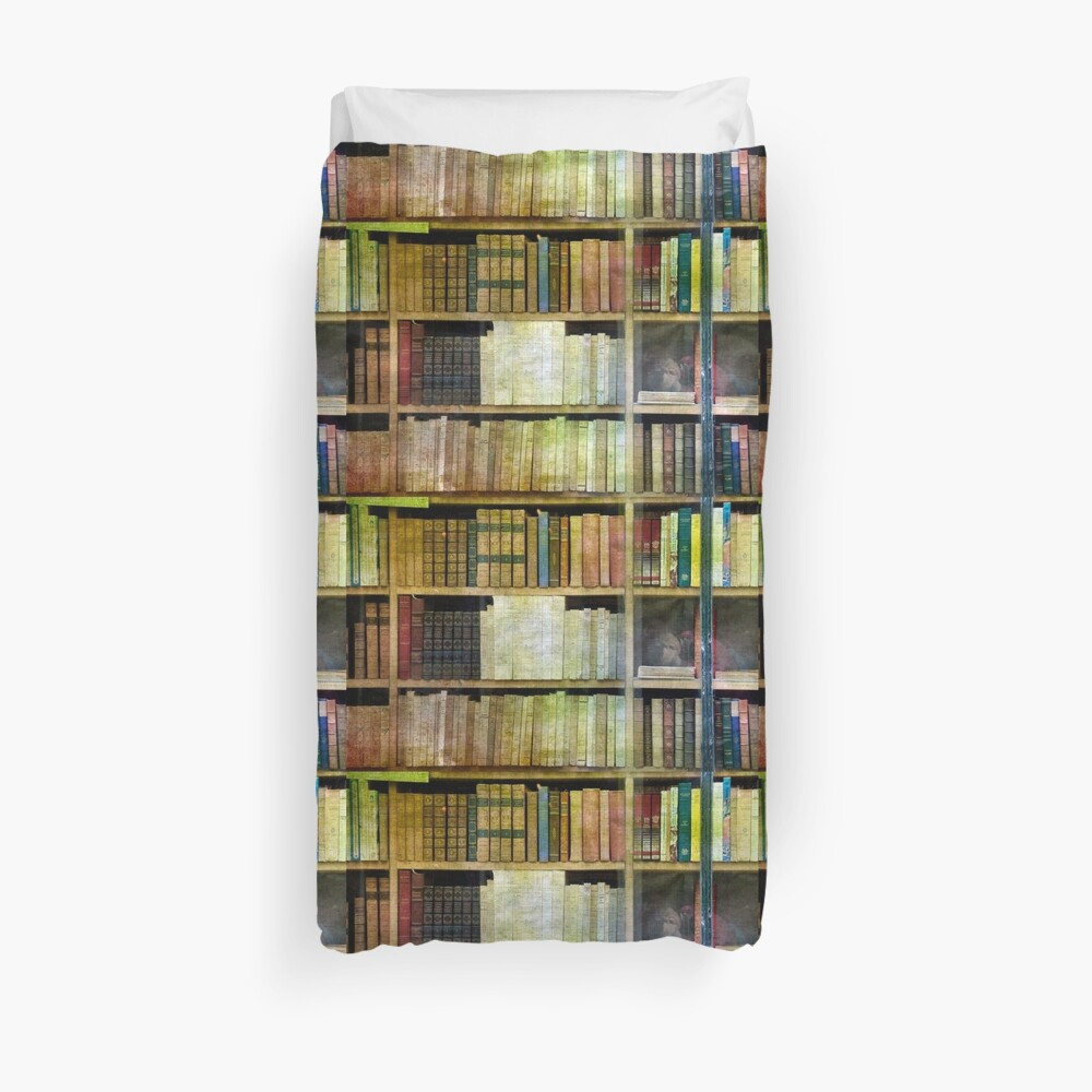 Antique Books Duvet Cover
