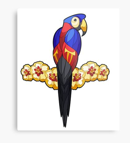 Pride Birds - Polyamory Metal Print