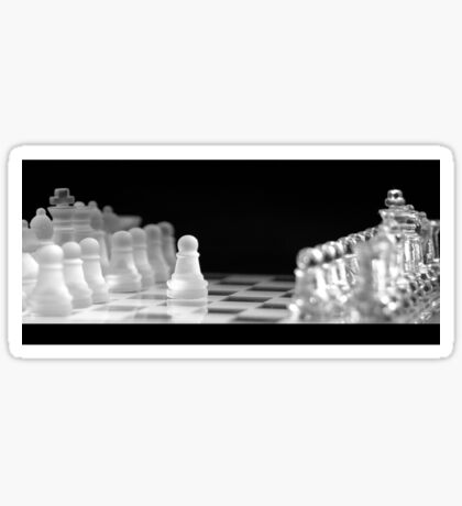 Chess 9: First move (T-Shirt & iPhone case) Sticker