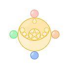 Pastel Sailor Moon Crystal Brooch by Anzadesu