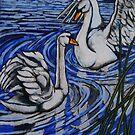 swans by Ronan Crowley
