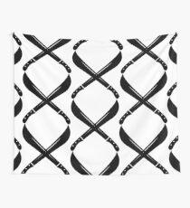 Machete Cross Wall Tapestry