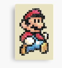 All Stars - Super Mario Bros 3  V01 Canvas Print
