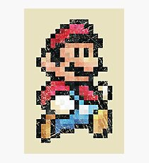 All Stars - Super Mario Bros 3  V01 Photographic Print