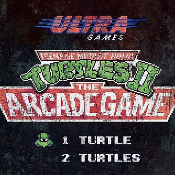 Ninja Turtles II Arcade Game by Lidra