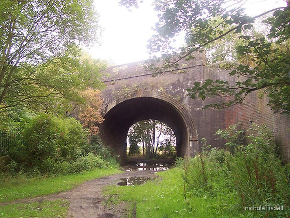 Railway bridge, St Helens by nicholaTisdall