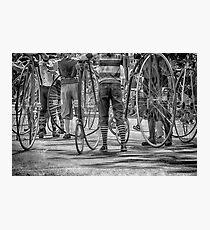 Bike Hop  Photographic Print