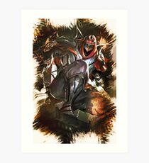 League of Legends ZED Art Print