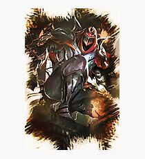 League of Legends ZED Photographic Print