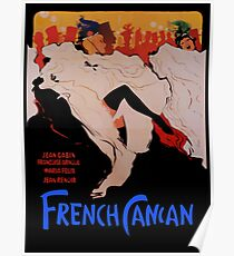 French cancan Poster