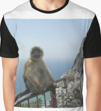 Going Ape In Gibraltar Graphic T-Shirt