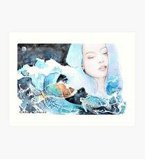 """""""Release You"""" Chloe Withers Art Print"""