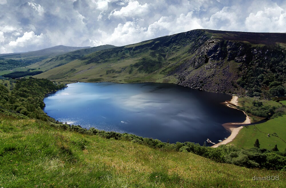 Lough Tay - Corrie Lake by dimm808