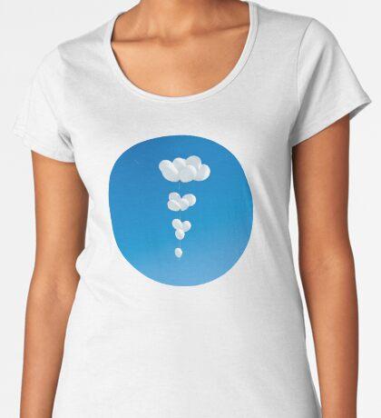 Saudade (weiße Luftballons) Frauen Premium T-Shirts