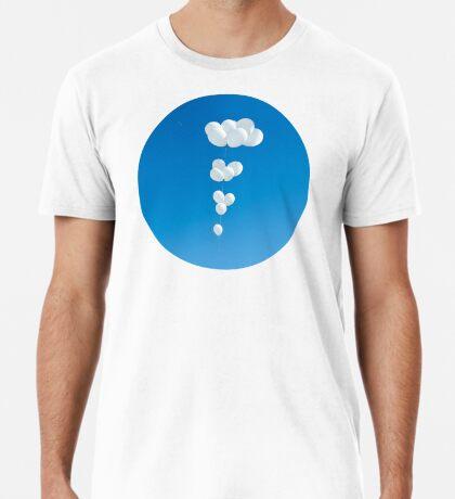 Saudade (weiße Luftballons) Premium T-Shirt