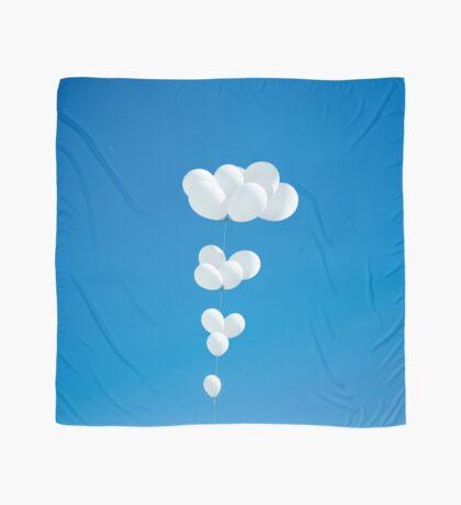 Saudade (weiße Luftballons) Tuch