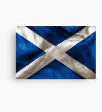 Schottische Flagge Leinwanddruck