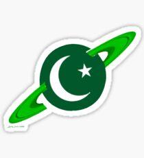 Show you are a Pakistani Starfleet Hero Sticker