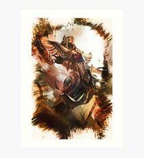 League of Legends AZIR Art Print