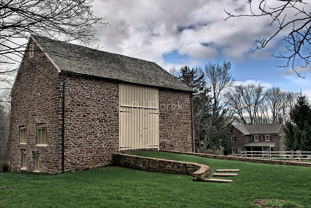 Amity Barn - NE Pennsylvania by DJ Florek