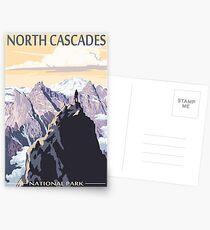 North Cascades National Park Washington State USA Travel Decal Postcards
